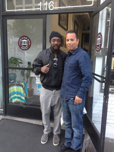 Will I AM visits the House of Bail Bonds