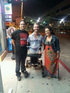 Nick Vujicic with Bail Agents Dan & Alexis