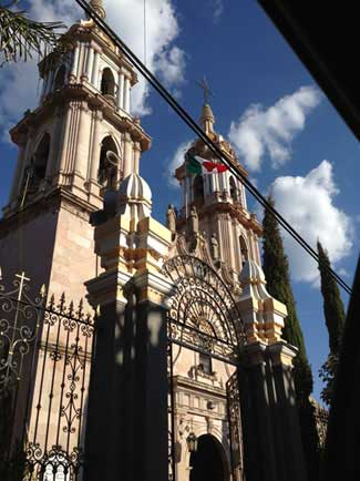 Church in Tepatitlan Jalisco